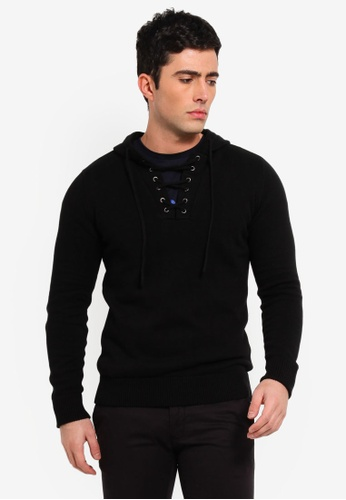 3a07dbd380 Buy Brave Soul Lace-Up Hoodie