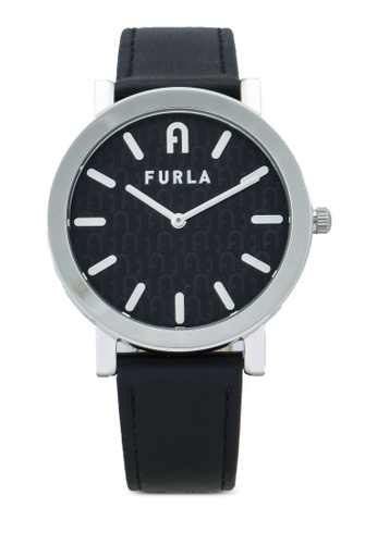 FURLA Watches 黑色 and 銀色 Ladies Silver Watches E34FFACBCCCC67GS_1