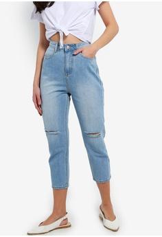 d63cf89f494 ZALORA blue Ripped Jeans 010EDAA70A303FGS 1