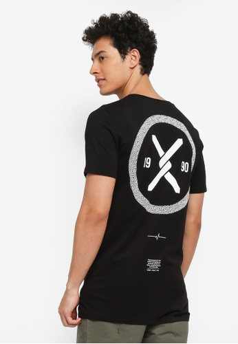 Jack & Jones black Lincoln Tee Crew Neck CC692AA12E2764GS_1