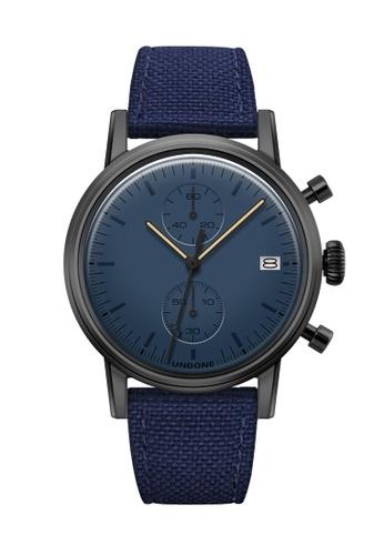 Undone black and blue and multi Undone Modern Blue Watch   UN712AC2VEJ9HK_1