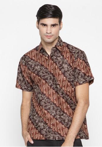 Waskito Hem Batik Katun - HB 18457 - Brown