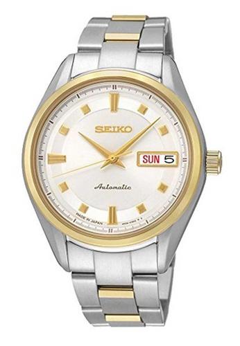 Seiko multi Seiko Presage Gold and Silver Stainless Steel Watch 7CAEEACD47854CGS_1