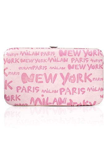 VERNYX - Woman's Flamingo New York Wallet DO466 Pink - Dompet Wanita