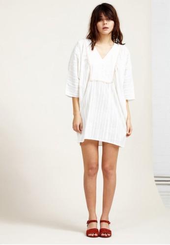 棉質寬版洋裝, esprit hk分店服飾, 短洋裝