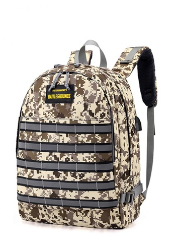 Lucky JX brown Joe Battlegrounds Camouflage Sports and Travel Backpacks 9AE94ACF203D84GS_1