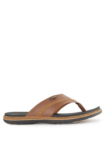 Homyped brown Sandiago 01 Men Sandals HO842SH0VNJ7ID_1