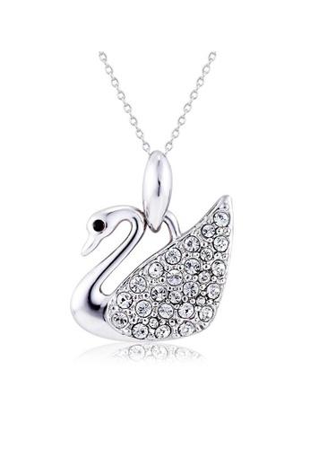 OUXI OUXI Swan Necklace 10193 OU821AC76NZRMY_1