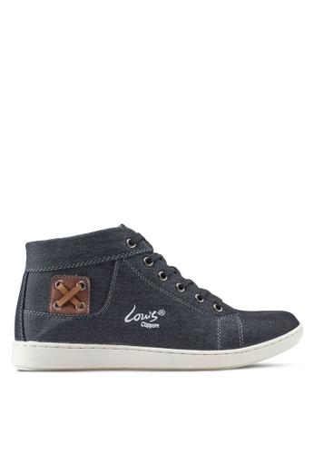 Louis Cuppers black High Top Sneakers LO977SH94ZJDMY_1