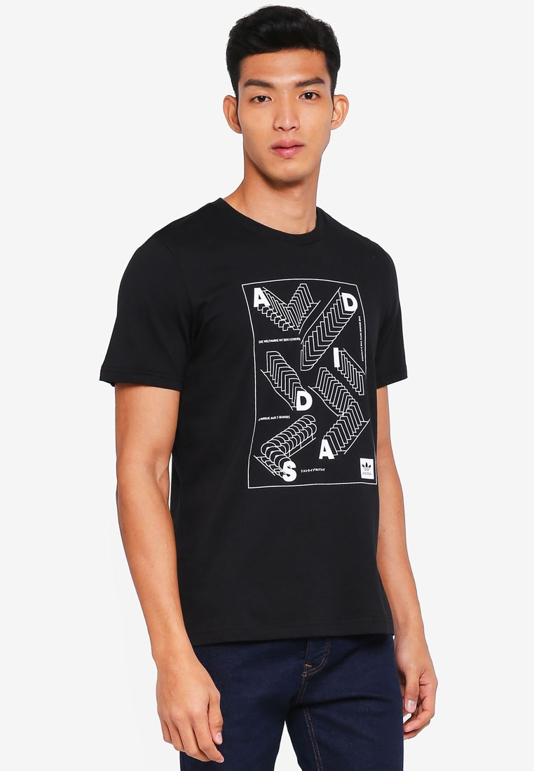 adidas rep originals adidas Black White t OB4wwPq