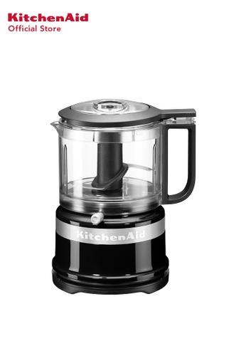 KitchenAid KitchenAid 3.5 CUP Mini FOOD PROCESSOR 5KFC3516BOB ONYX BLACK 5C7DAHLADE2D13GS_1