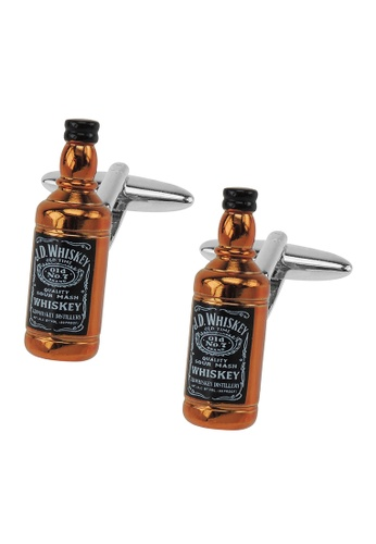 CUFF IT brown Whiskey Bottle Cufflinks CU047AC2VGLBHK_1