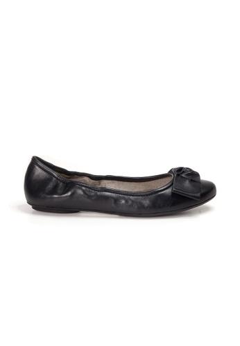 Shu Talk black AMAZTEP NEW Comfy Sole Nappa Leather BOW Ballerina Ballet Flats 6C33FSH00BFB2CGS_1