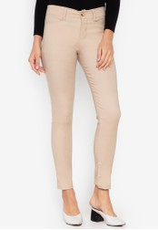 D Fashion Engineer brown Wear-to-Work Stretch Pants F5735AA5078BFBGS_1