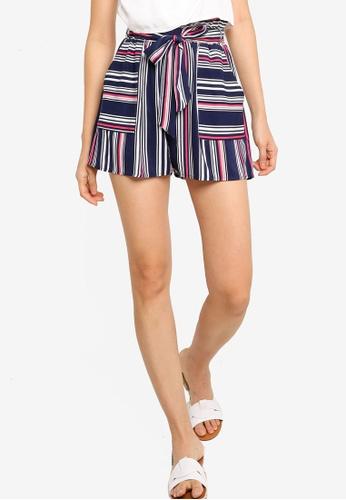 ZALORA BASICS multi Paperbag Shorts 298CEAA4B23253GS_1