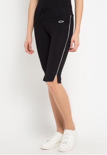 Opelon black Opelon Celana Olahraga Wanita - Capri Pants Heather Black 378A2AA3A94F7DGS_1