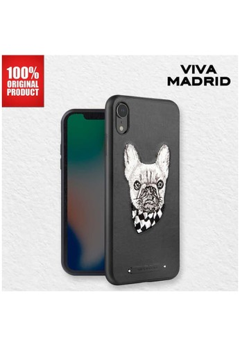 Viva Madrid black Casing iPhone XR Culto Viva Madrid - Pug Life 1D57BES161D8EAGS_1