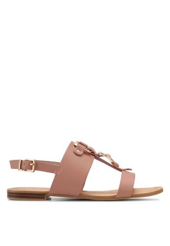 ALDO pink Afiarien Flat Sandals D7964SH6C6A76FGS_1