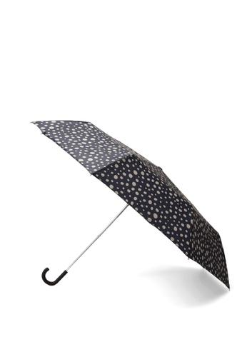 Mango black Polka-Dot Folding Umbrella 9AD70AC3952797GS_1