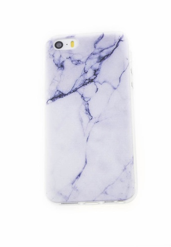 Fancy Cellphone Cases multi Marble Soft Transparent Case for iPhone 5/5s/SE FA644AC80HUTPH_1