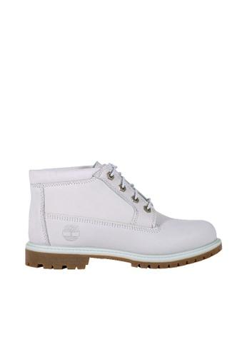 Timberland white Nellie Waterproof Chukka Boots 5E5CFSH85BB379GS_1