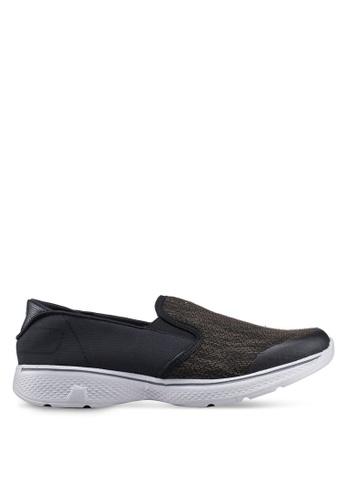 UniqTee black Lightweight Slip-On Sport Shoes Sneakers EA661SH93A0952GS_1