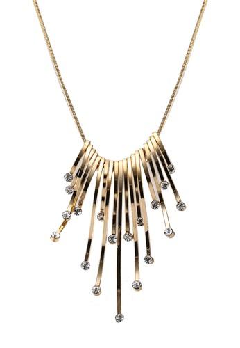 Megane gold Zenka Long Necklace 4EB71ACD022D0CGS_1
