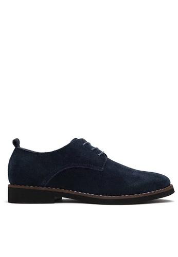 Twenty Eight Shoes 藍色 猄皮皮鞋 MC8801 29CEASH637A082GS_1