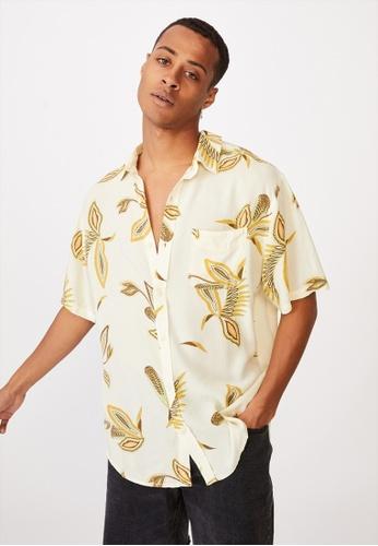 Cotton On multi Short Sleeve Resort Shirt CA535AAFDE78ABGS_1
