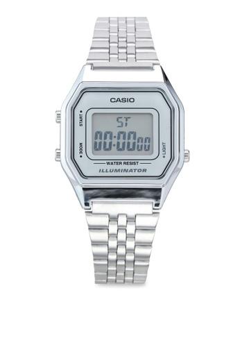 Casio silver Casio LA680WA-7 Watch 5A9E0AC0C7CF53GS_1