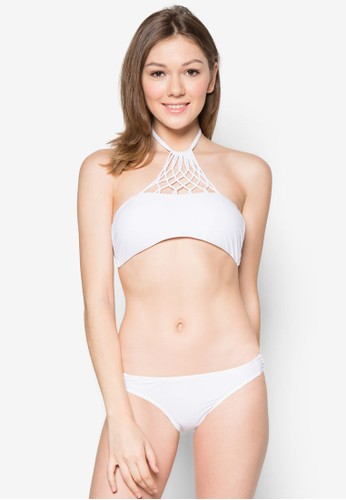 Etienesprit 台北ne 削肩繞脖比基尼套裝, 服飾, 泳裝
