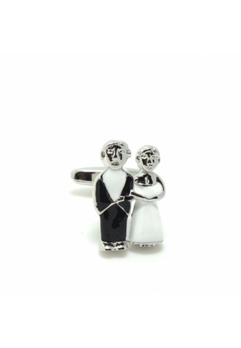 The Little Link Cufflinks black Happily Ever After cufflinks TH089AC0G4Y7SG_1