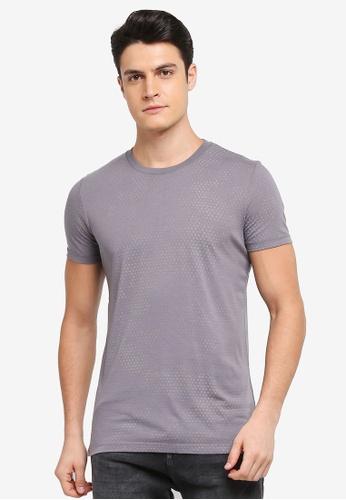 ESPRIT grey Short Sleeve T-Shirt 118CEAA33A463EGS_1