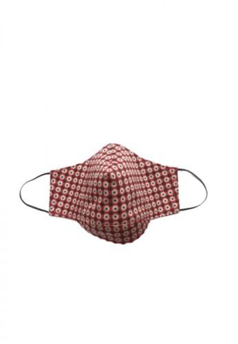 Etoile D'Elfas Stylish Cotton Face Mask Reusable M-135 Terracota 3 Pcs 171E3ES0D12A02GS_1