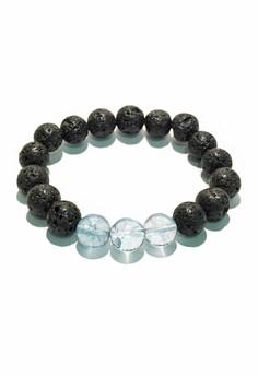Lava Stone Quartz Bracelet