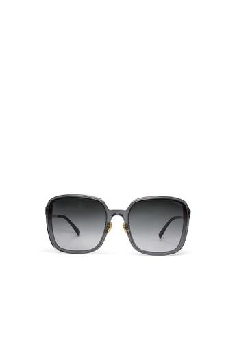 Jill Stuart grey JILL STUART Nara JS20043 Squared Acetate Sunglasses 876EFGLB496A4EGS_1