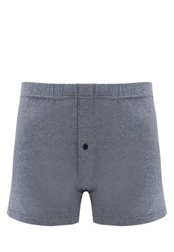 ZALORA CORE grey Core Men's Boxer 37C35US905788CGS_1