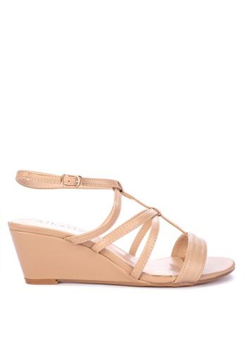 07e6cb6b7e Shop Alberto Strappy Wedge Sandals Online on ZALORA Philippines