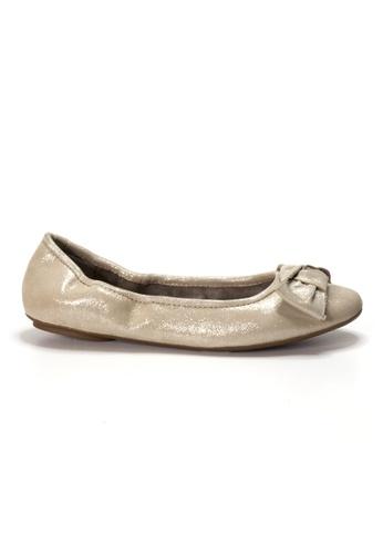 Shu Talk gold AMAZTEP NEW Comfy Sole Suede Leather BOW Ballerina Ballet Flats AF9EESHD4FA68BGS_1