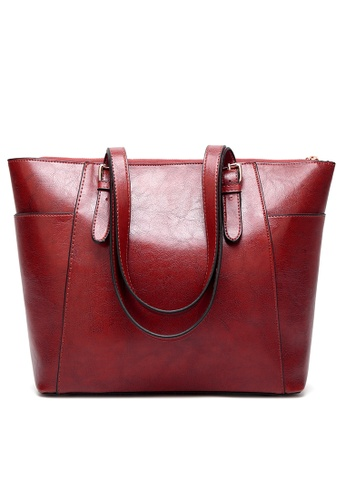 Lara red Women Synthetic Shoulder Bag D0216ACC0DB7A6GS_1