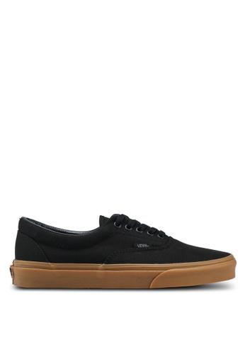 VANS black and brown Core Classic Era Sneakers VA142SH0SWQVMY_1