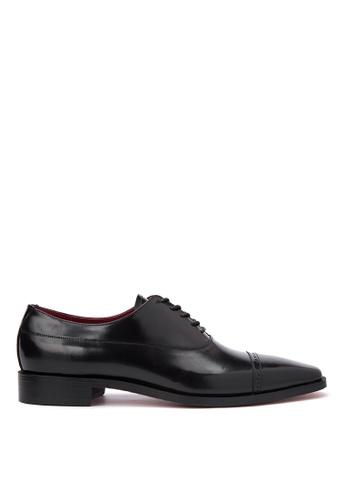 Bristol Shoes black Baylor Black Brogue Oxford BR842SH67KCIPH_1