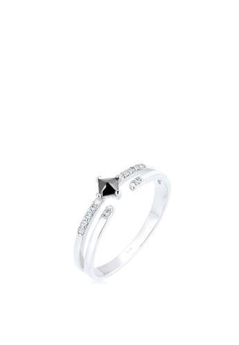 ELLI GERMANY silver Ring Modern Zirconia Crystal 6A2A7AC75C5EF5GS_1