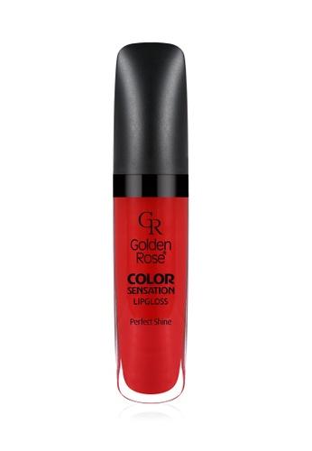 GOLDEN ROSE red Color Sensation Lip Gloss - 122 GO743BE93EDQMY_1