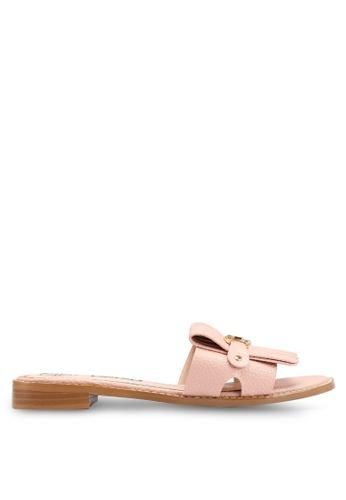 BETSY 粉紅色 金屬飾涼鞋 496C7SH21FA482GS_1
