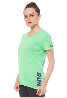 Run Shortsleeve Top - Green