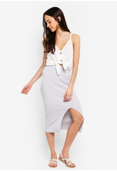 eb4021cc0d Cotton On Cleo Knit Tube Skirt RM 135.00. Sizes XXS XS S M L