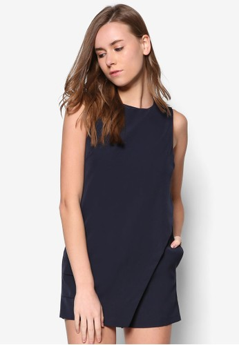 經典裹飾連身褲裝, 服飾zalora時尚購物網的koumi koumi, 連身褲