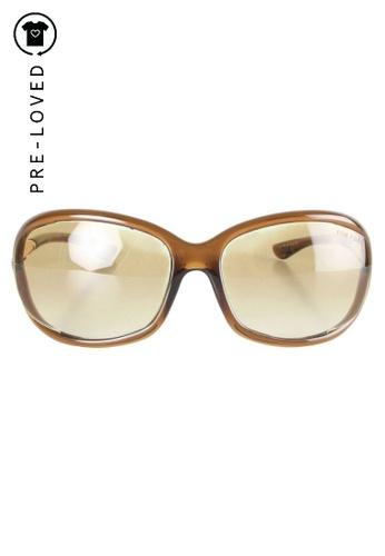Tom Ford brown Pre-Loved tom ford Tom Ford Sunglasses. 56858GL5B11CEDGS_1