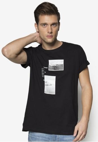 風esprit 會員景圖案設計TEE, 服飾, 印圖T恤